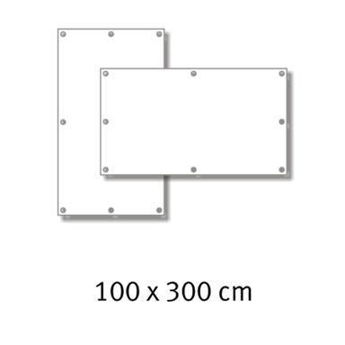 Premium-Werbebanner 100 x 300 cm