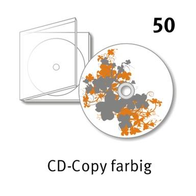50 CD Kopien mit Labeldruck