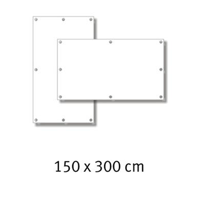 Premium-Werbebanner 150 x 300 cm