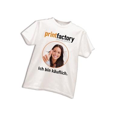 T-Shirt mit Motivdruck DIN A3