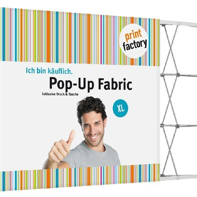 printMEGAFABRIC - Textil - Pop Up Display