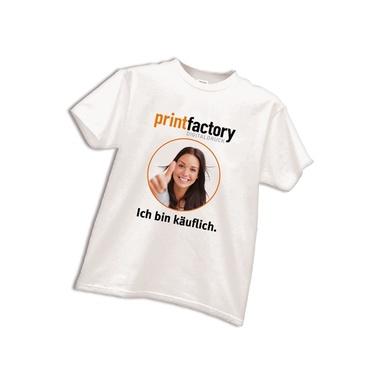 T-Shirt mit Motivdruck DIN A4