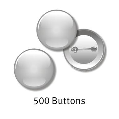 500 Buttons - 55 mm rund, mit Ihrem Motiv