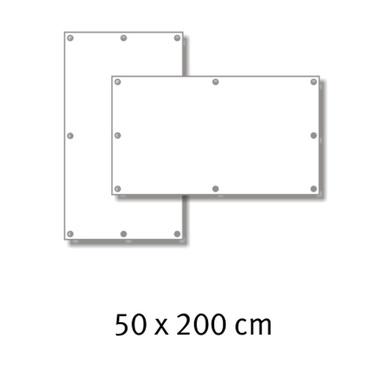 Premium-Werbebanner 50 x 200 cm