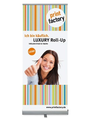 Luxury Roll Up bedrucken lassen