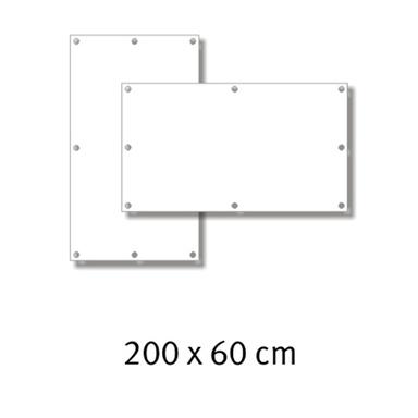 Premium-Werbebanner 200 x 60 cm