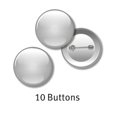 10 Buttons - 55 mm rund, mit Ihrem Motiv