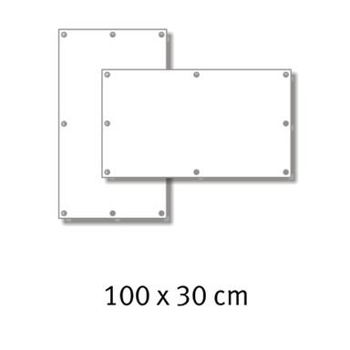 Premium-Werbebanner 100 x 30 cm