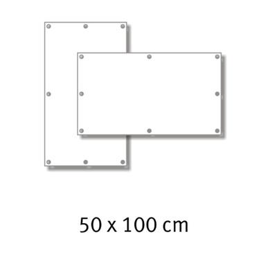 Premium-Werbebanner 50 x 100 cm