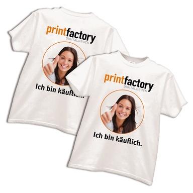 T-Shirt mit Motivdruck 2 x DIN A3
