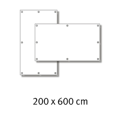 Premium-Werbebanner 200 x 600 cm